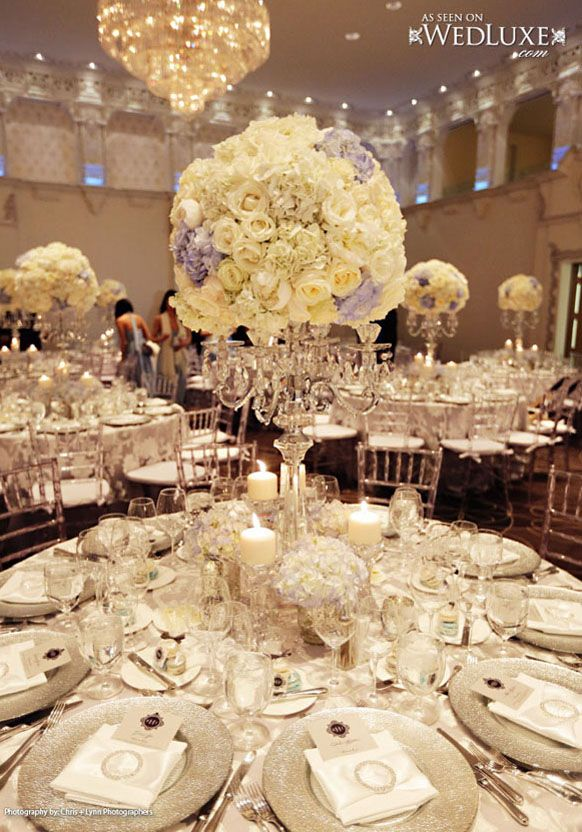 Wedding Table Centerpieces Candelabra