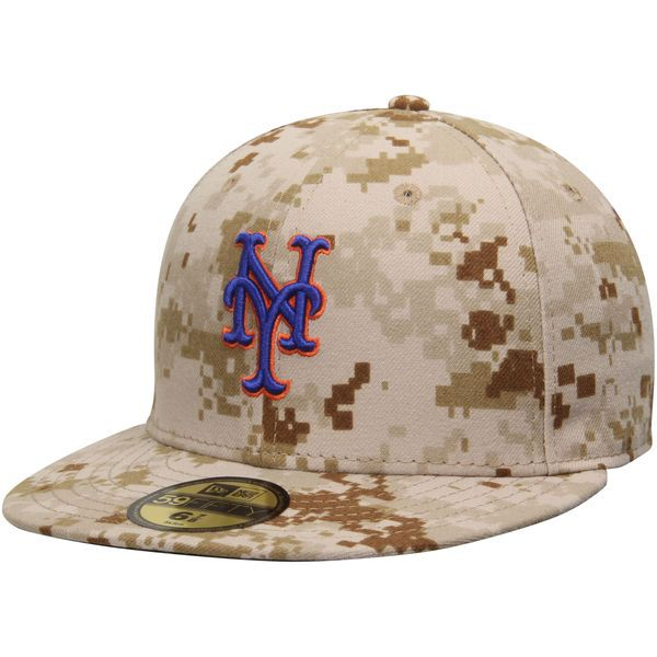 Men's New York Mets New Era Camo Authentic Collection On-Field 59FIFTY Performance Fitted Hat, $34.99 http://shareasale.com/m-pr.cfm?merchantid=62865&userid=646297&productid=613290121&afftrack=