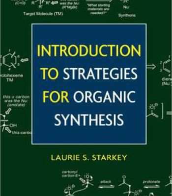 Introduction To Strategies For Organic Synthesis PDF