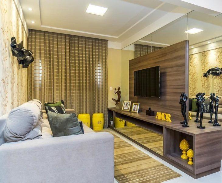 1000 ideias sobre salas pequenas no pinterest sala de for Salas para casas chiquitas