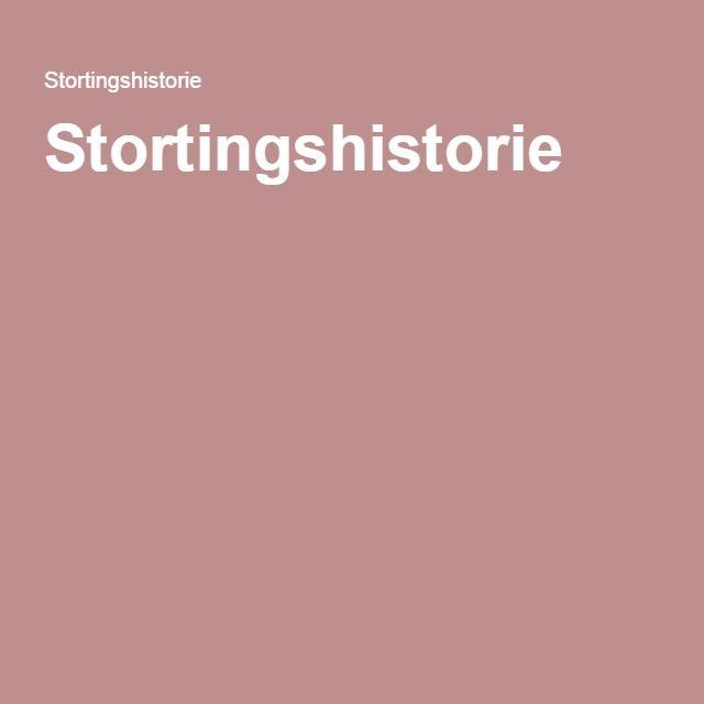 Stortingshistorie