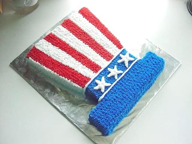 4th of July, Independence Day, 4th of July Picnic, 4th of July RecipesChicken Recipe, Cake Recipe, Hats Cake, Fourth Of July, Cake Ideas, 4Th Of July, July 4Th, Simple Cake, Tops Hats