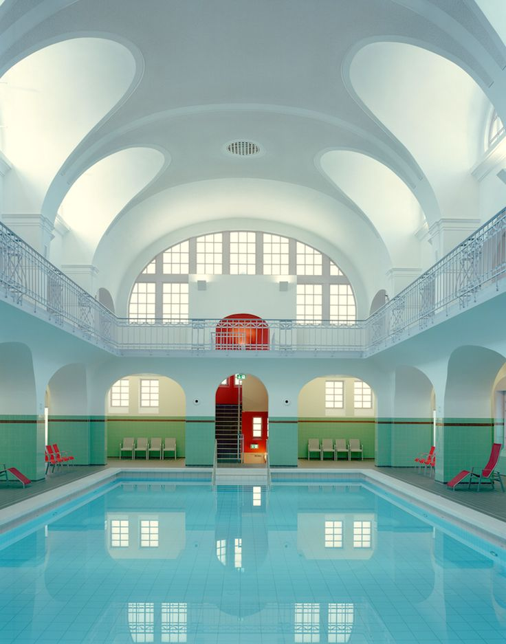 Stadt-Bad Gotha in Gotha, Germany - Wes Anderson Color Palette