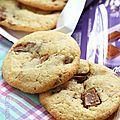 Cookies croustillants aux pépites de chocolat Milka®