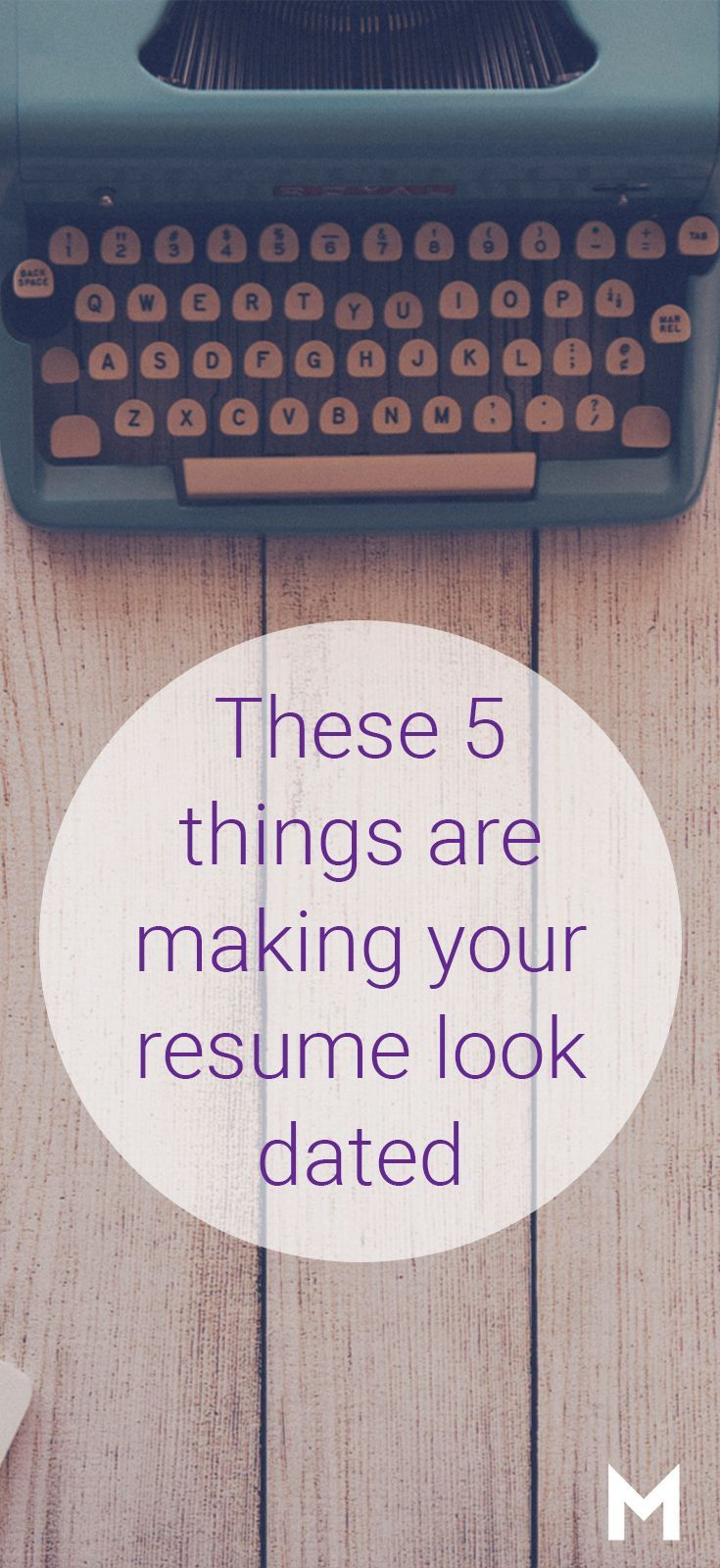 These 5 things are making your resume