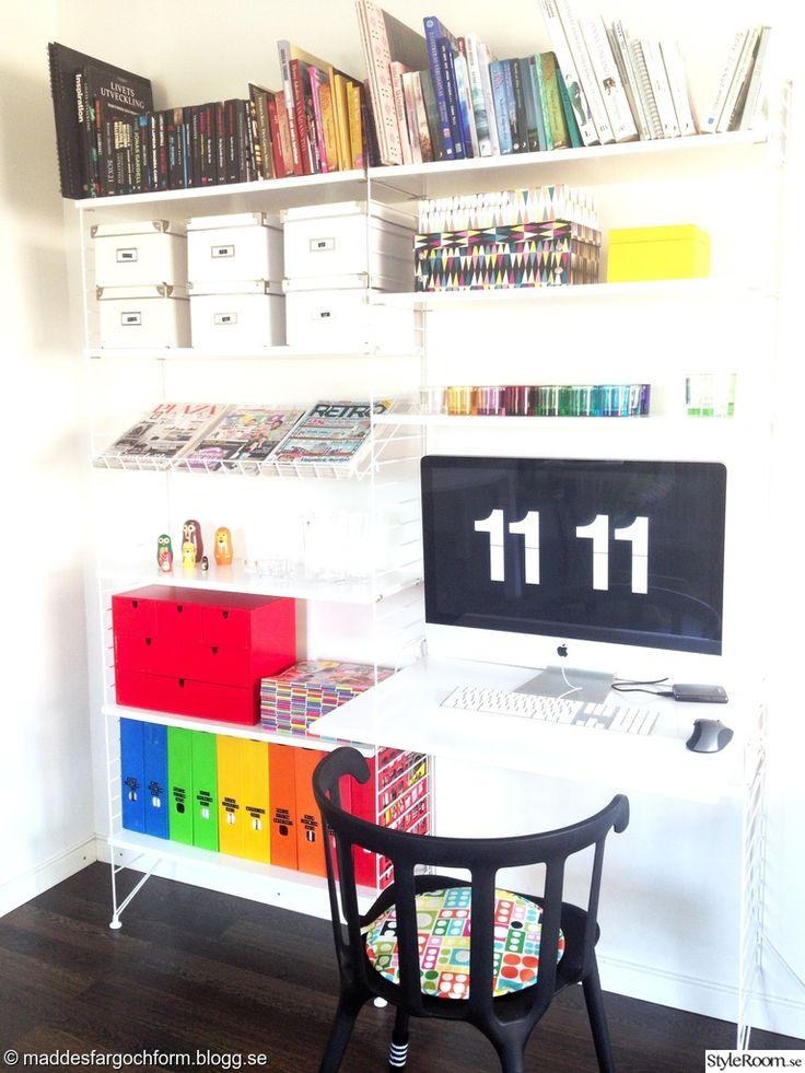 stringhylla,string,string skrivbord,stringhylla vit,vardagsrum,arbetshörna