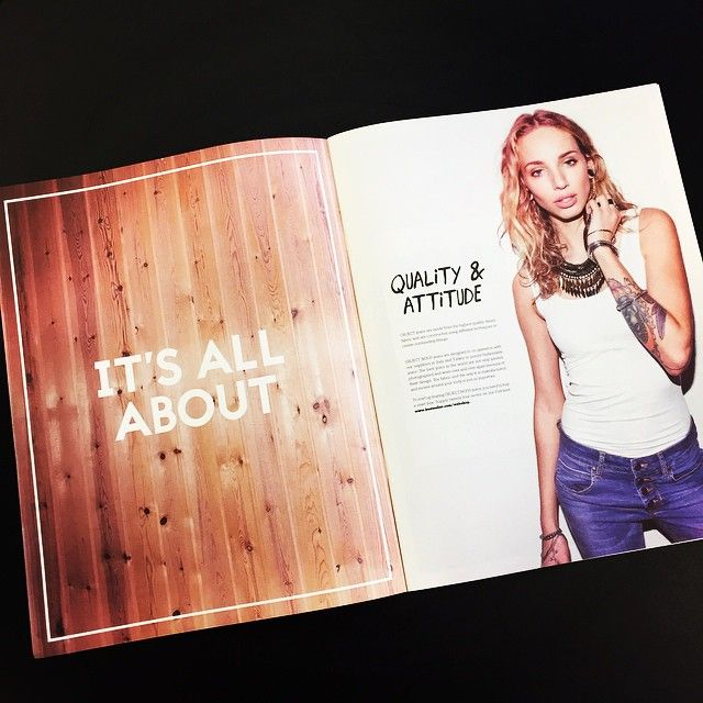 Leafing through our new jeans magazine - it's all about quality and attitude #objectjeans #objectfashion