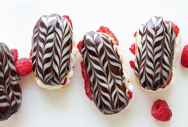 Driscoll's Raspberry Eclairs Recipe | From Bakers Royale's