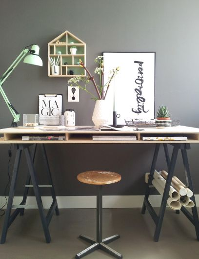 Tips for a healthy workplace (+ inspiring photos of workspaces)