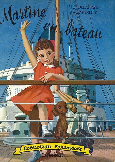 Martine en bateau!!