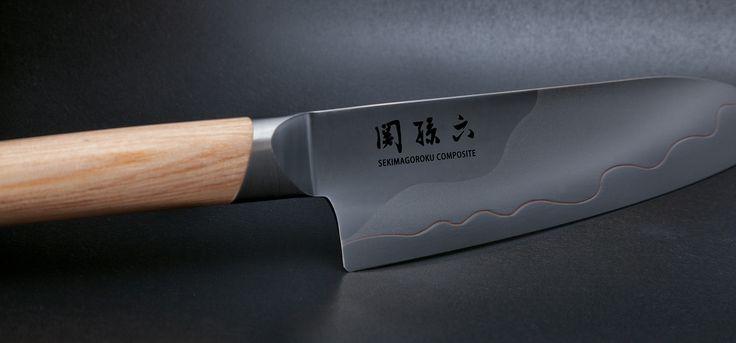 Couteaux Kai Seki Magoroku Comprosite.