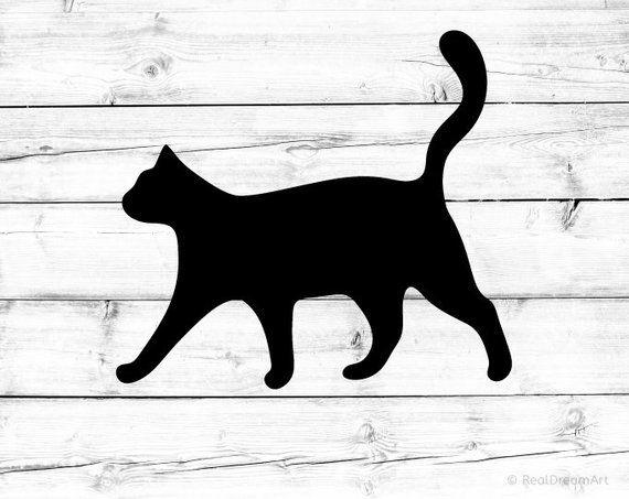 Download Halloween Black Cat Svg Spooky Sign Svg Black Cat Svg File ...