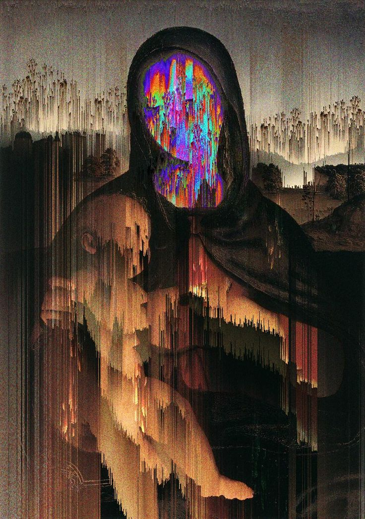 Willian Santiago #mary #glitch #painting