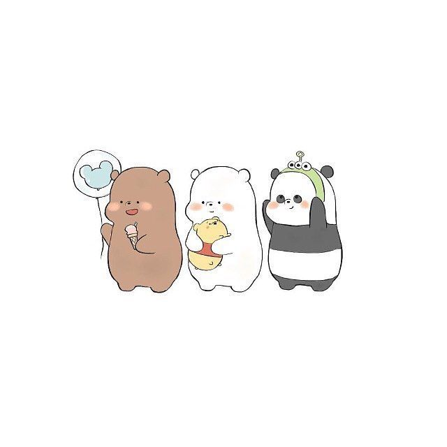 Image Result For We Bare Bears Wallpaper In 2019 We Bare