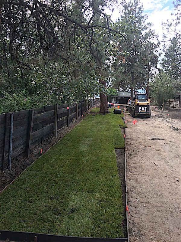 SOD Installation – Irrigation Installation – Edging Installation – Gravel Driveway – Gravel Parking Pad
