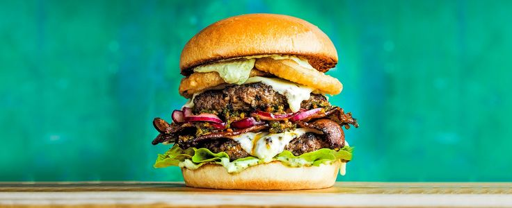 All the flavours of Brazil crammed into one epic mouthful – it's a bit of extra effort but take the challenge and you'll be rewarded with a gold-medal burger