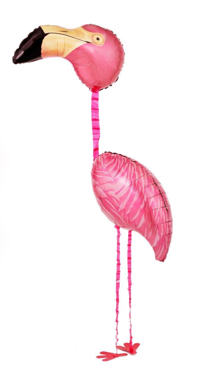 """Amazon.com: Tropical Flamingo Airwalker 65"""" Foil Balloon: Toys & Games"""