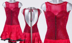As worn by Oksana Platero on week 11 of Strictly Come Dancing 2016