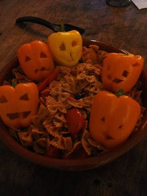 Saskia's knutsel blog: Halloween themed dinner