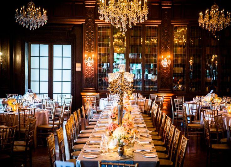 A Chic Castle Wedding In Toronto | Weddingbells