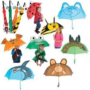 Childs Animal Umbrella Ladybug Lady Bug Kids Rain Gear | eBay