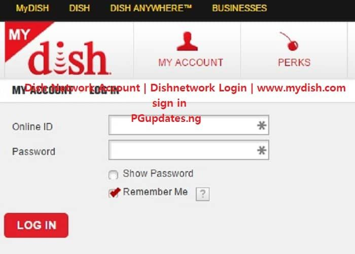 Dish Network Account Dishnetwork Login Www Mydish Com Sign In In 2020 Satellite Network Networking Internet Network