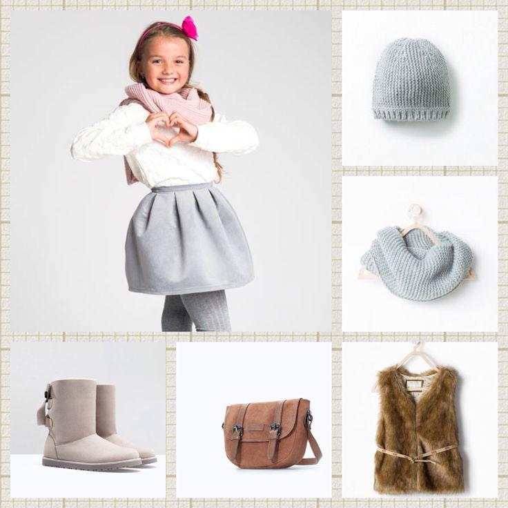 Stylizacja ze spodniczka AVENUE  #streetatyle #kids #fashionkids #cute #littlegirl #skirt