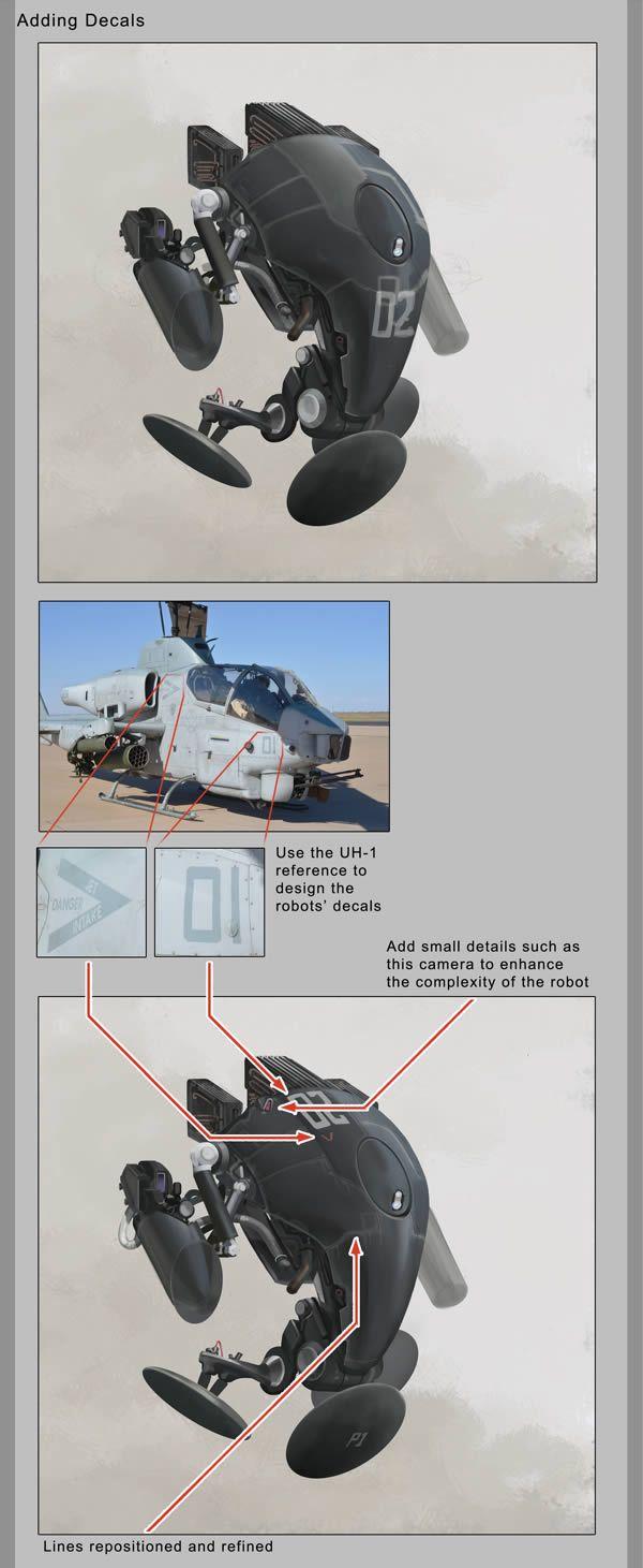 Create a Futuristic Combat Robot in Photoshop - Tuts+ Design & Illustration Tutorial