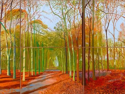 Stunning English Landscape Paintings by David Hockney...Made With an iPad (Photos)