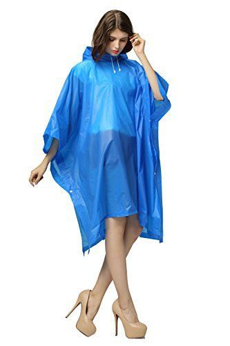 New Trending Outerwear: DIDK EVA adult rain poncho tasteless poncho women rain winter poncho Blue. DIDK EVA adult rain poncho tasteless poncho women rain winter poncho Blue   Special Offer: $8.99      188 Reviews Strong flexibility, shockproof, anti slip, pressure resistance. Advantage : -Keeps you dry in rain. -Women's rain gear stays in the bottom of your backpack until needed. ...