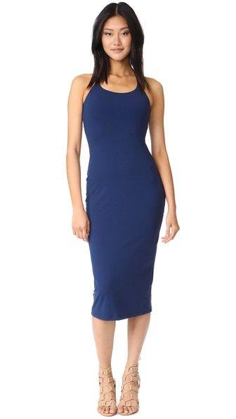 Susana Monaco Quentin Dress in Inkwell Blue