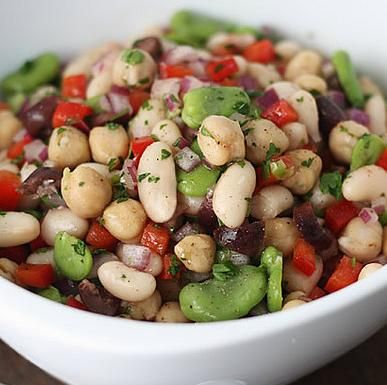 Mediterranean Bean Salad Recipe