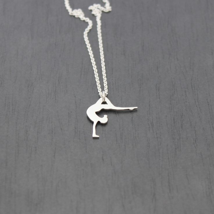 Sterling Silver Handstand Pendant, for any gymnastics, dance, yoga enthusiast by AlexStoneJewellery on Etsy https://www.etsy.com/au/listing/384710612/sterling-silver-handstand-pendant-for