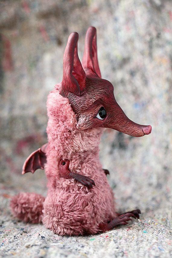 Bat Fox by chercheto on Etsy