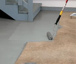 How To Paint Cement Floors Basement Epoxy Sounds Scary Maybe I Ll Just Do Acrylic Since We Ll Probably