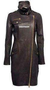 Custom Made Ladies Leather Jacket Giacca in Pelle Da Donna Jaquette Joppe LJF23U   eBay