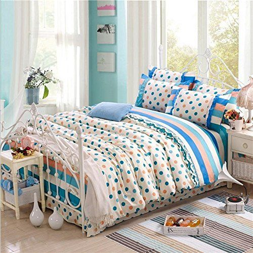 BL Bedding Set, 100% Cotton King Size Bedding Sets, 4PCS with Duvet Cover, Bed Sheet, 2PCS Pillow Case (Comforter Not Included) //Price: $52.52 & FREE Shipping //     #hashtag3
