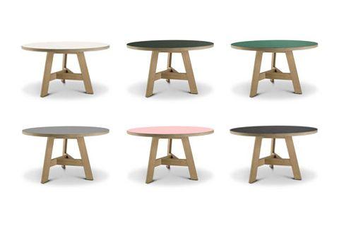 aanbieding ronde tafels 128cm voor 750 euro