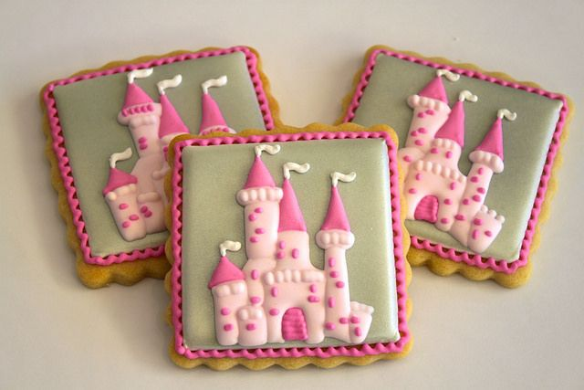 Castle cookies by Miss Biscuit | Flickr - Photo Sharing!