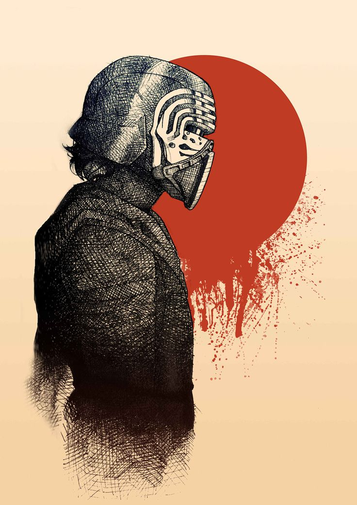 Kylo Ren by Claudia Poppe on Behance