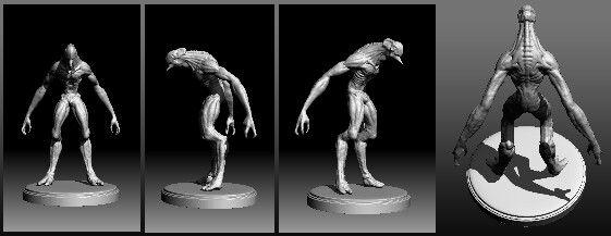 ZBrush Alien Concept