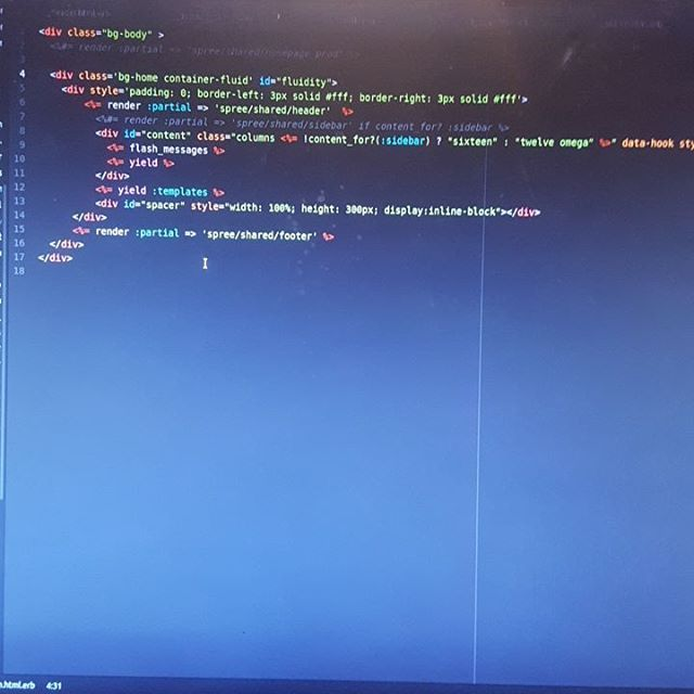 just finishing a business in ruby on rails ror ruby html javascript