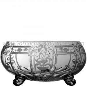Imperial Clear 3 Footed Bowl 13' 698€