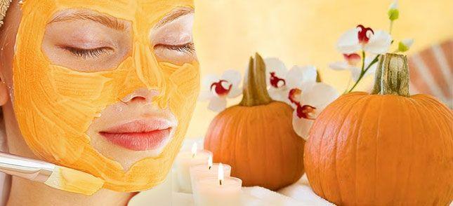 Máscara de abóbora maneira natural mais fácil de prevenir rugas