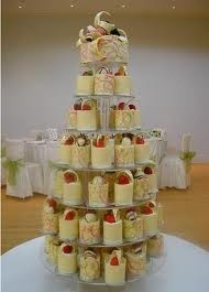 Cheesecakes   - http://www.pinned-recipes.com: Idea, Chocolates Wedding Cakes, Cheesecake Wedding Cakes, Individual Cheesecake, Cheesecake Randomnumb, Desserts Bar, Fav Httppinnedrecipescom, Fav Http Pin Recipes Com, Cakes Wedding
