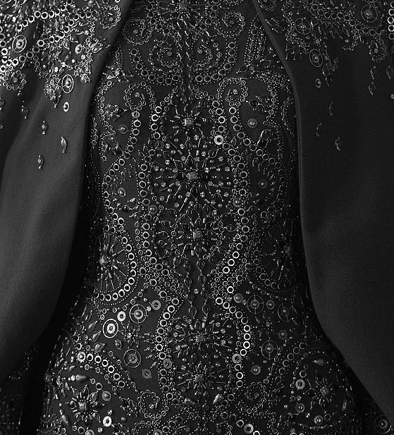 McQueen beading. Want to embroider like they do in couture houses? Learn from the experts who work for Louis Vuitton, Chanel and much more https://www.mastered.com/course-listings/3