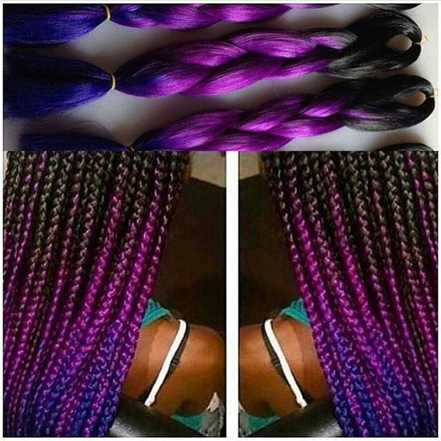 """Top 100 ombre braiding hair photos 💞ALLURING KANEKALON OMBRE BRAIDING HAIR --- 🚨PRICING IS RIGHT BELOW 🚨 ------- $7.99 each, LENGTH 24""""  1b/Lt Grey 20"""" 1b/Drk Grey 20"""" 1b/Red 1b/Purple 1b/Burgundy  1b/Blue 1b/Light Brown 1b/27 1b/30 20"""" 1b/ButterScotch ---- 3 & 4 TONE $9.99 each LENGTH 24"""" ---- SERIOUS INQUIRES ONLY!!! ***WHEN YOUR READY TO ORDER/PAY*** EMAIL YOUR FULL NAME, INSTAGRAM..."""