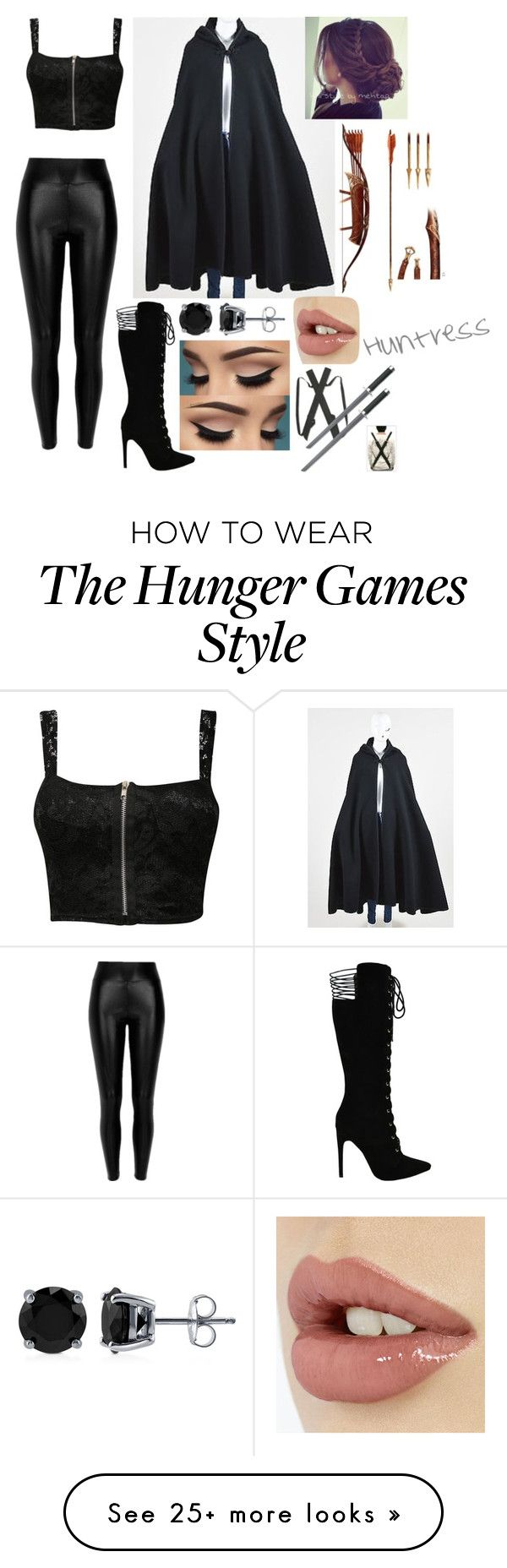 """""""Huntress"""" by beachlover44 on Polyvore featuring Calvin Klein, Pilot and BERRICLE"""