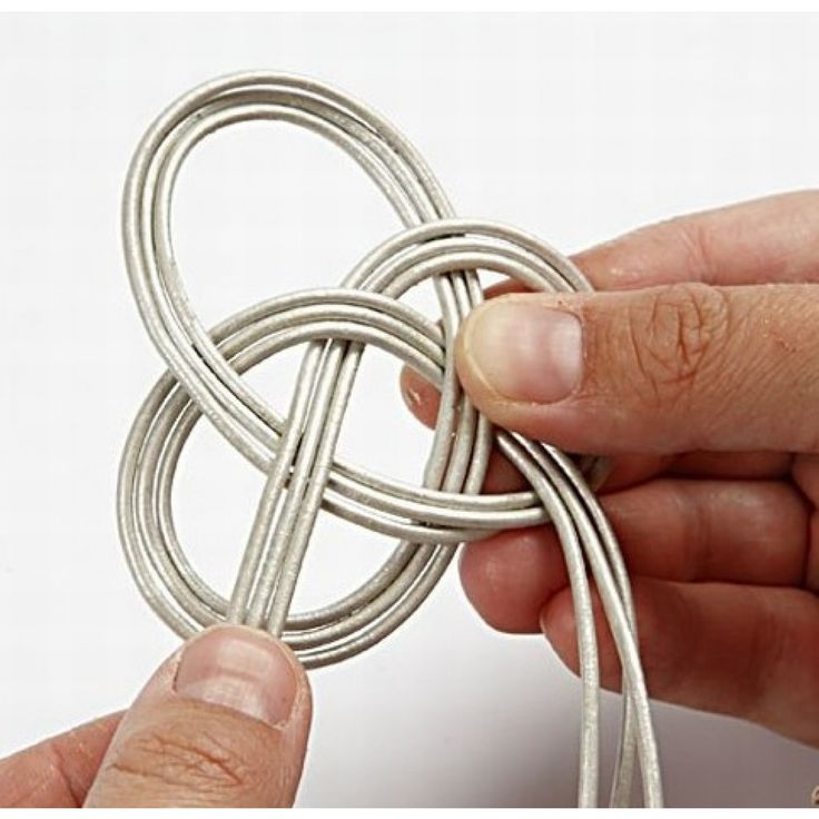 Knyttet læderarmbånd |DIY vejledning