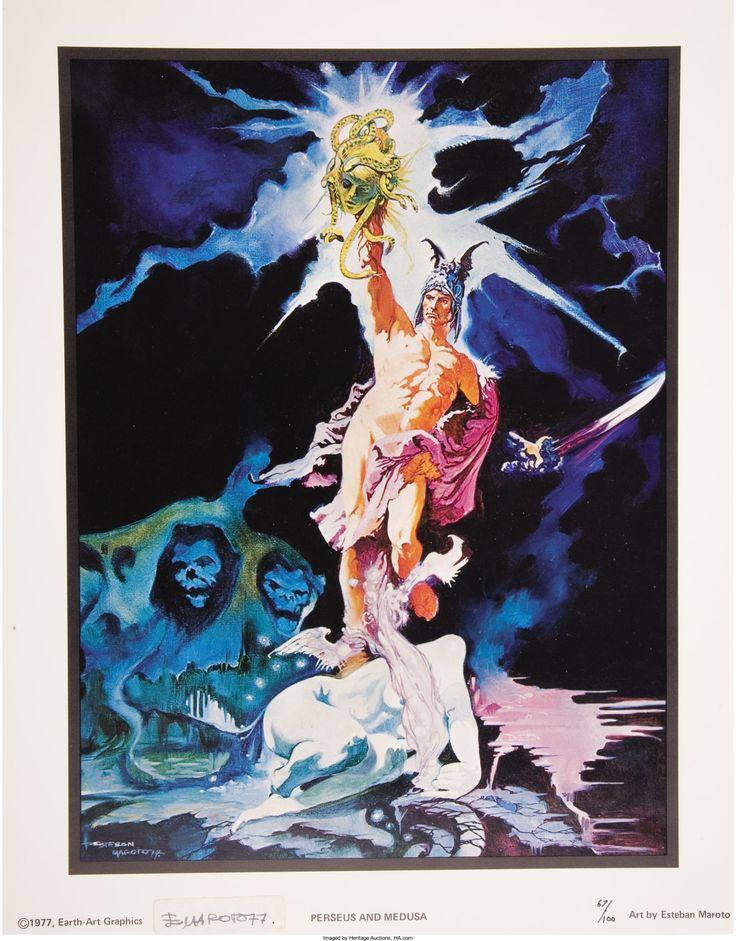 ESTEBAN MAROTO (Spanish b.1942). Perseus and Medusa, original | Lot #66225 | Heritage Auctions